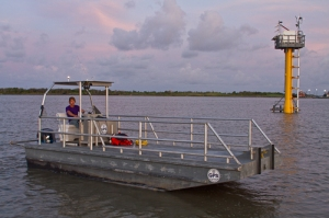 pelican survey boat